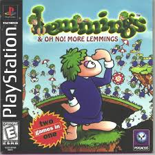 Lemmings & Oh No! More Lemmings - PS1 - ISOs Download