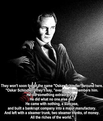 Schindler's list, escapematter