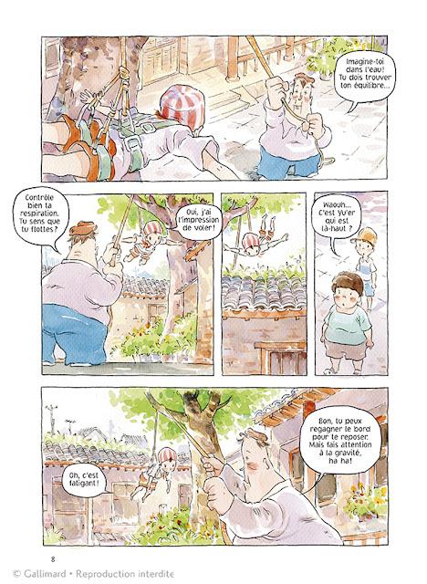 Les contes de la ruelle de Nie Jun planche 1