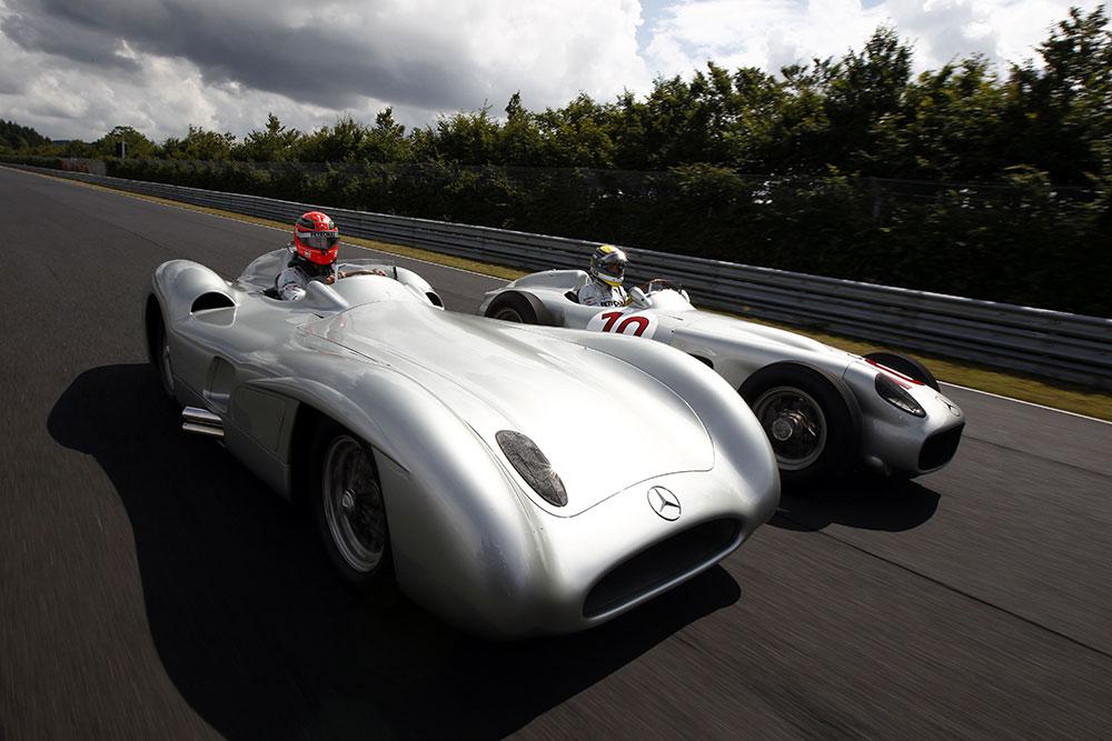 Vintage Mercedes F1 Cars
