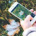 Take iPhone Photos & Frozen Winter Fruits