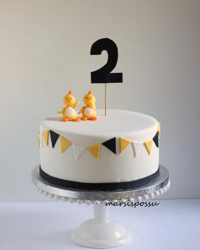 Kakku 2-vuotissynttäreille