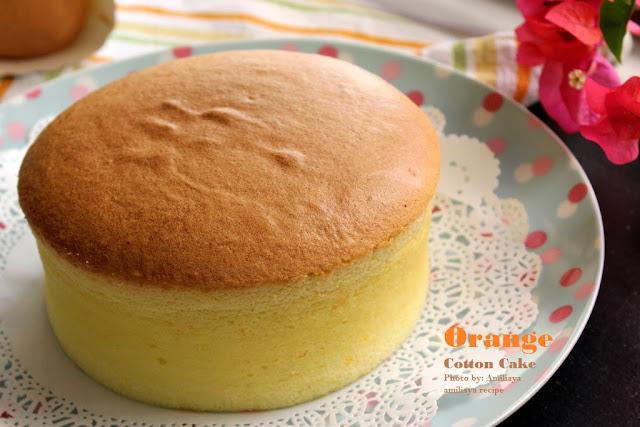 鲜橙棉花蛋糕