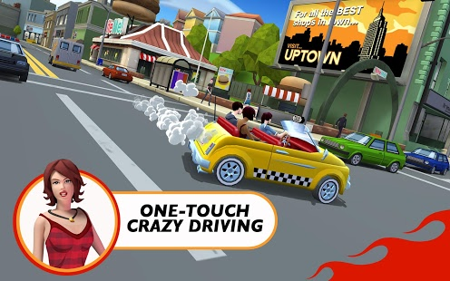 Crazy Taxi City Rush Mod Apk v1.6.3