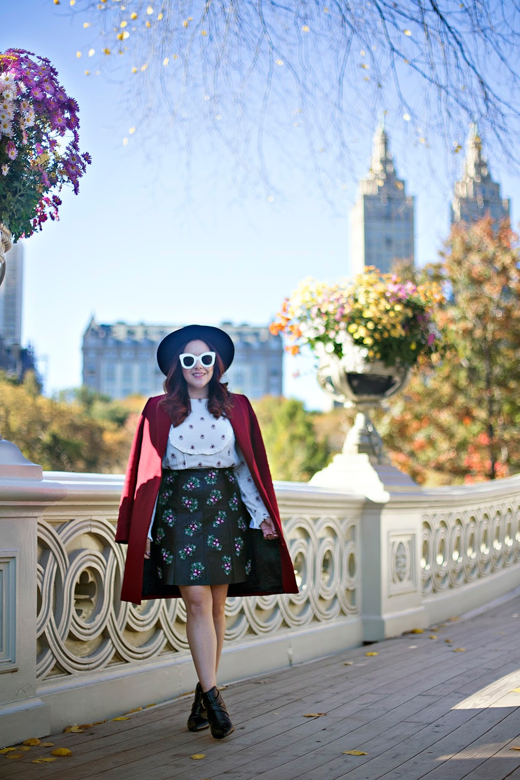 Fall trends, print mixing with Club Monaco