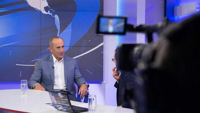 Kocharyan anuncio su regreso a la política