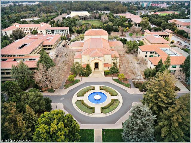 Vistas Observatorio Hoover Tower, Universidad de Stanford