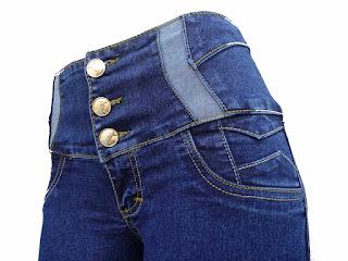 Jeans de moda de mezclilla para dama 2017