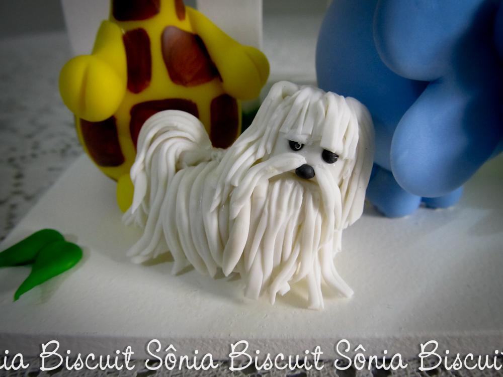Biscuit Decoração Safári