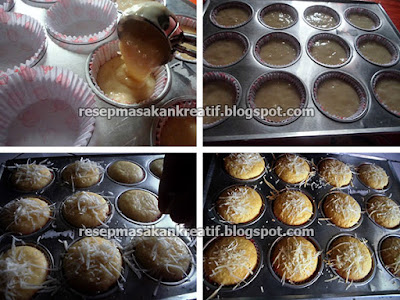 Resep Cara Membuat Muffin Keju Panggang
