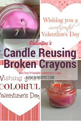 Free Valentine's Tags, DIY, Crafts