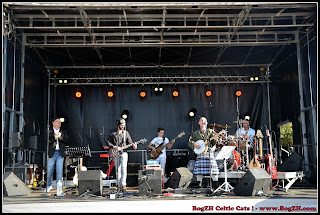 BogZH Celtic Cats ! Rock celtique punk folk Pornic 14 juillet 2016