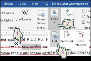 Menyisipkan Hyperlink Untuk Membuka Formulir Pesan Email