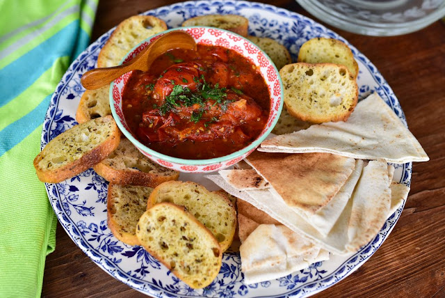 Spicy Lebanese Salsa