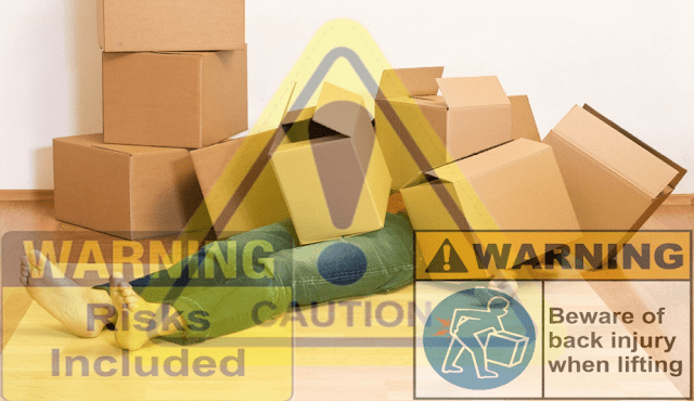major risk of moving goods by owm