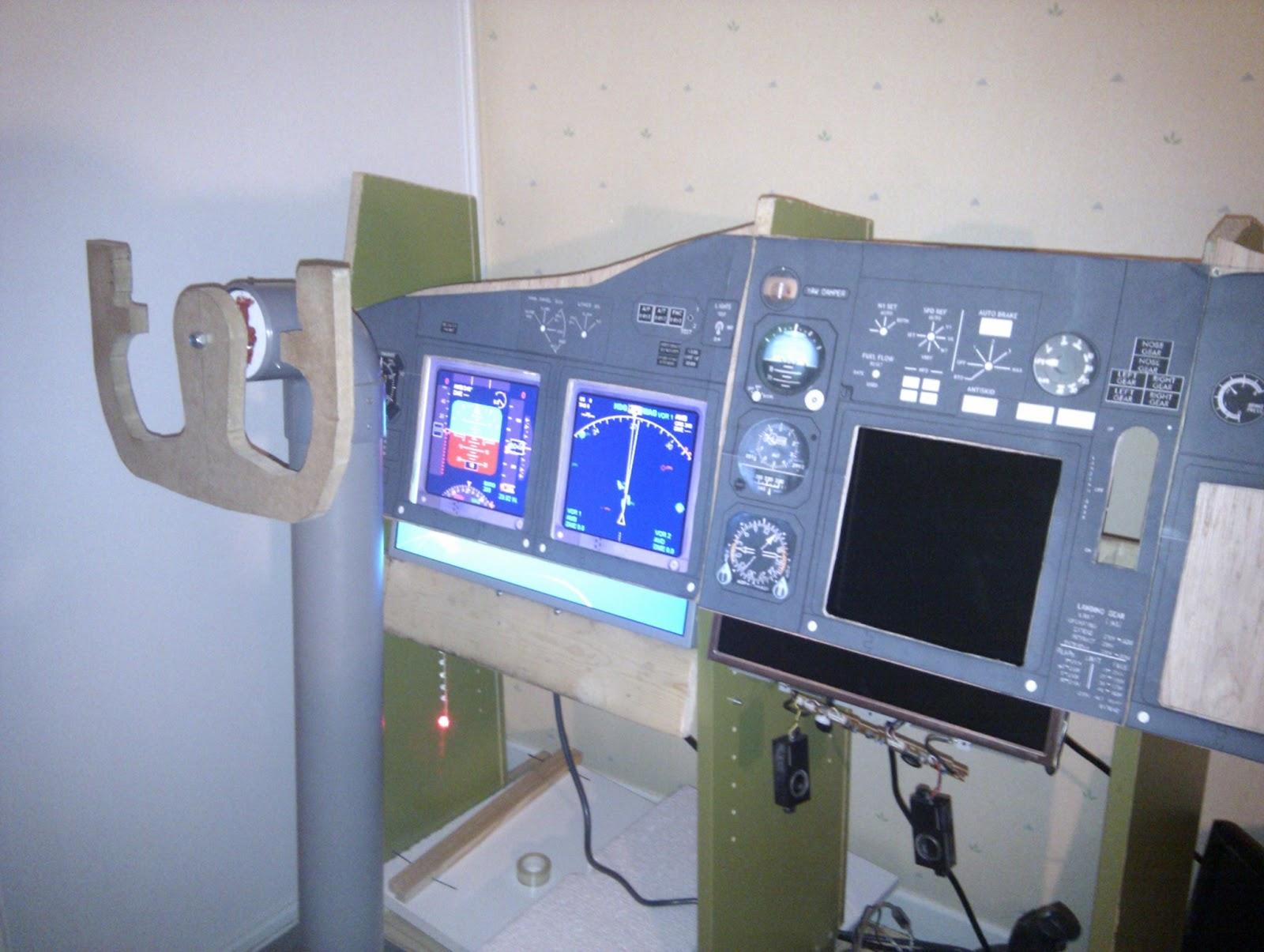 My Sim Cockpit Project: Construction