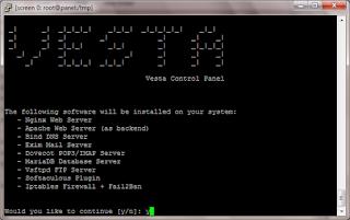 Cara Install VestaCP di VPS CentOS 7 64 Bit Digital Ocean