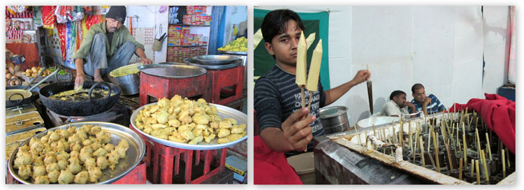 Street food from Gujarat