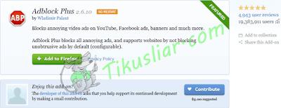 Cara Mudah Memblokir Iklan Pop Up Dengan Adblock Plus