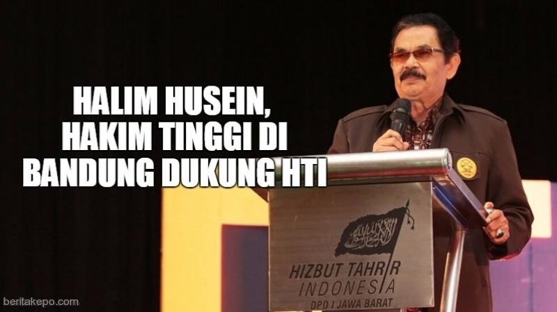 Hakim Tinggi di Bandung dukung HTI