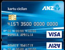 Kartu Kredit ANZ Cicilan