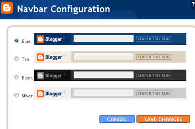How to Hide or Letting Blogger Navbar Showed