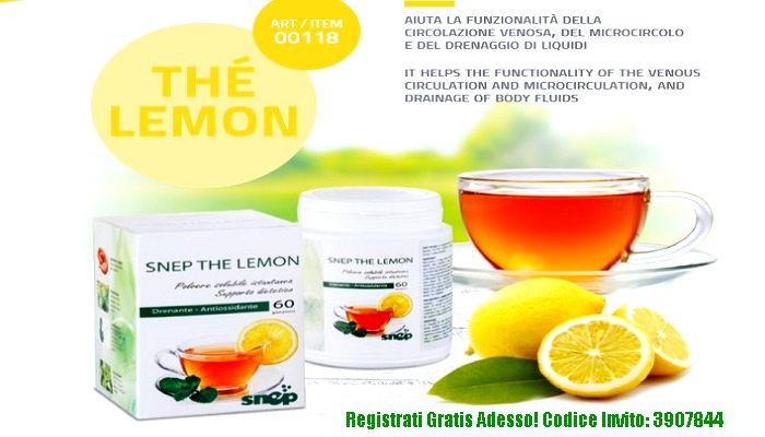 snep the lemon