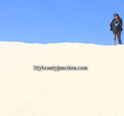 Desert diaries: My holiday adventures, including dune-bashing, sand-boarding and cuisine
