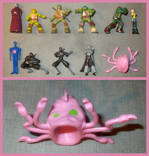 2014, Interactive Books, My Busy Book, Nickelodeon, Phidal Publishing, Pixar, PVC Figurines, Small Scale World, smallscaleworld.blogspot.com, Teenage Mutant Hero Turtles, Teenage Mutant Ninja Turtles, TMHT, TMNT, 11 of 12 Figurines, Close Up Shots