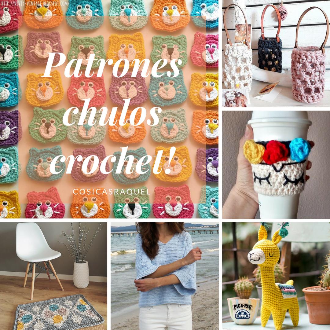 cosicasraquel: Recopilación Patrones Crochet