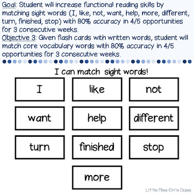 Tips for writing IEP goals