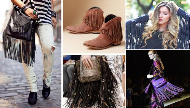 Franjas na moda