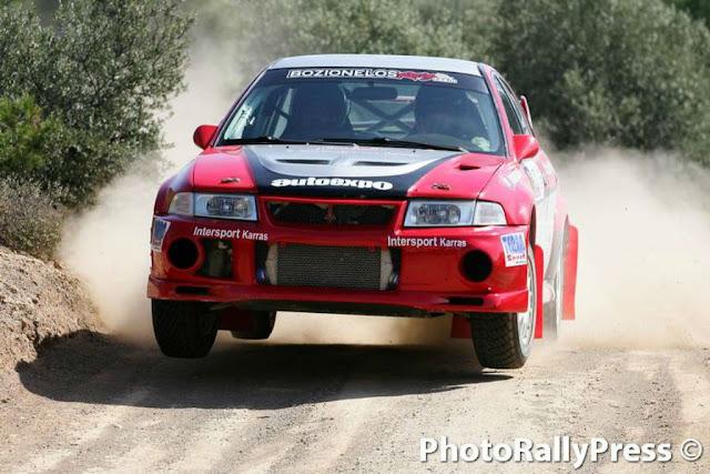 2η θέση για Μποζιονέλο -  Παναρίτη στο 27ο Rally Sprint Αμαλιάδας