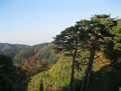 Kasugayama Castle Ruins.