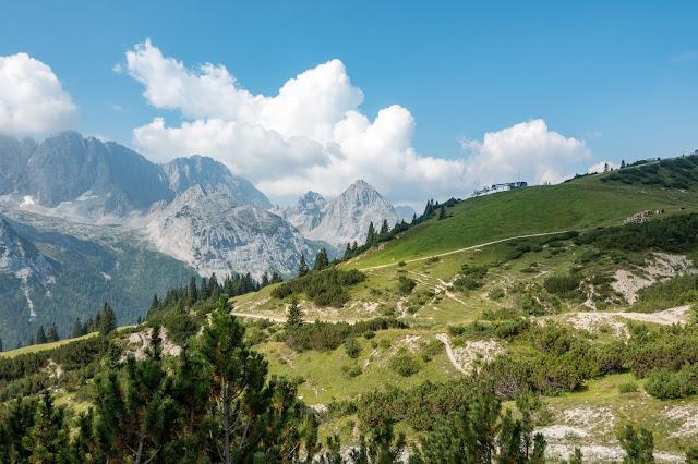 Übers Gatterl auf die Zugspitze  Alpentestival Garmisch-Partenkirchen   Gatterl-Tour auf die Zugspitze über ehrwalder Alm und Knorrhütte 06