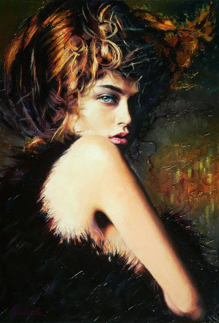 "Ukrainian Painter- ""Alexey Slusar"" 1961"