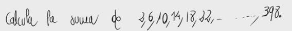 9. Suma de los términos de una progresión aritmética 1