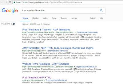 Mengejar Index Google Nomor Urutan 1 Di Jutaan Pencarian