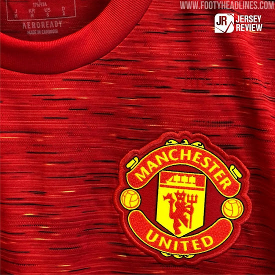 Leak Evolution Adidas Manchester United 20 21 Home Kit Footy Headlines