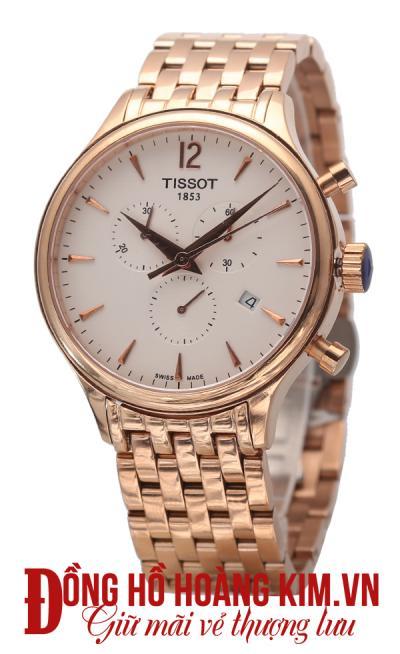 đồng hồ nam tissot 1853 mới về dây sắt