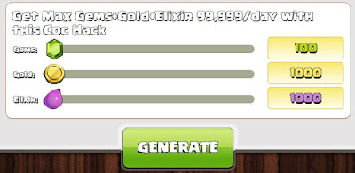cara cheat clash of clans
