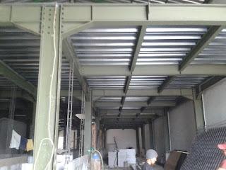 konstruksi baja untuk dak
