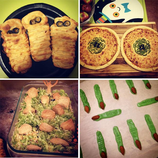 Creepy & Fun Food Ideas for Halloween | Neon Rattail