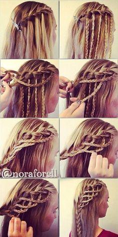 Amazing Hairstyle: Rope Braid