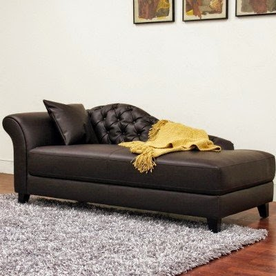 fainting couch: modern fainting couch