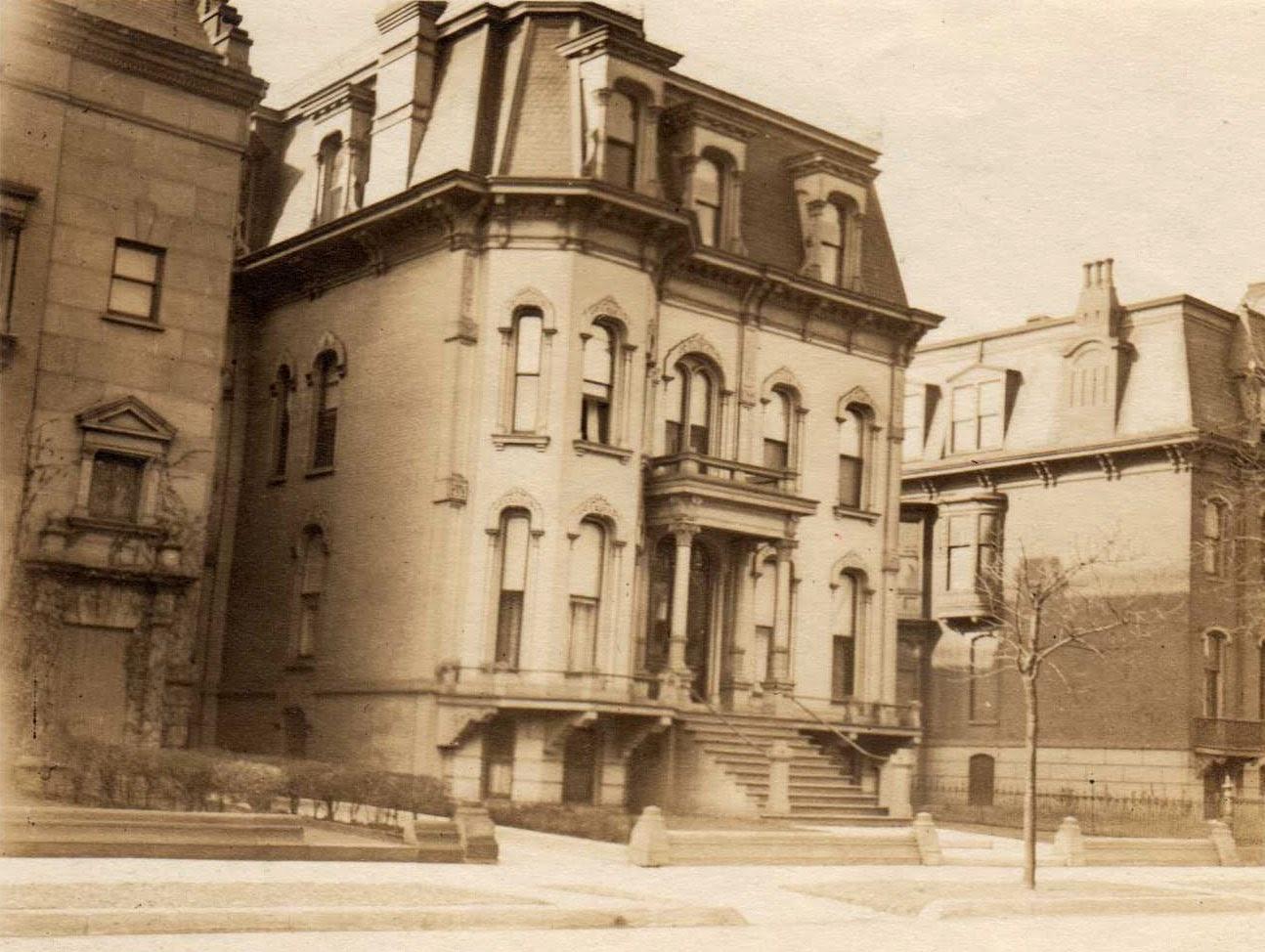 The Story Of A House Elbridge Keith House
