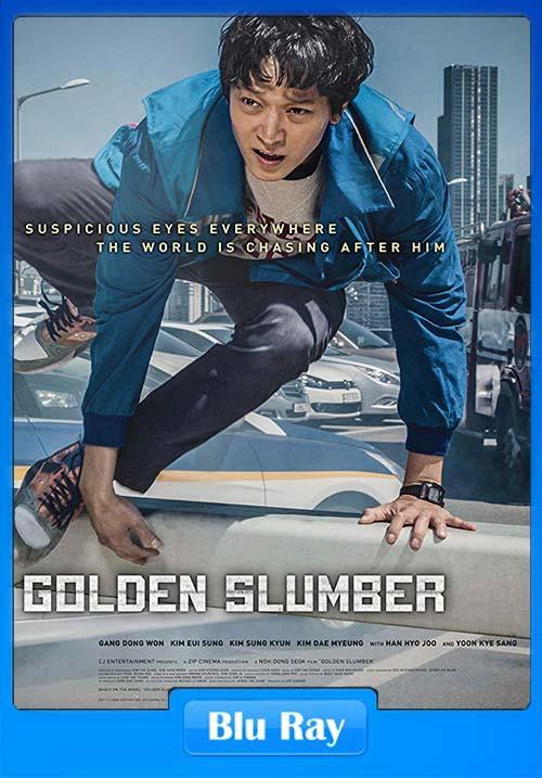Golden Slumber 2018 720p Dual Audio Hindi BluRay x264 | 480p 300MB | 100MB HEVC Poster
