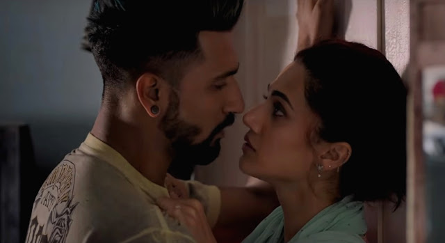 Taapsee Pannu and Vicky Kaushal in Manmarziyaan