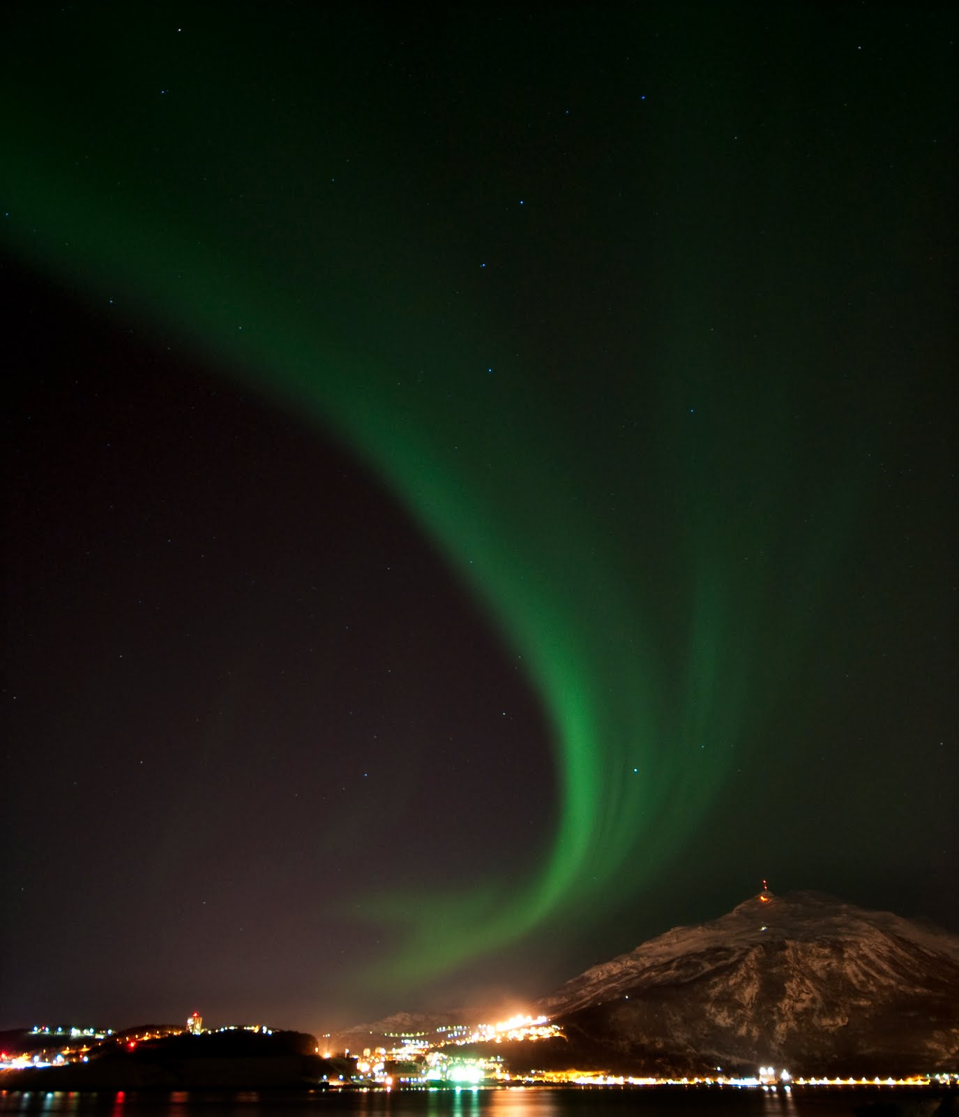 Ebba T Jenssen Photography Nordlys Over Narvik