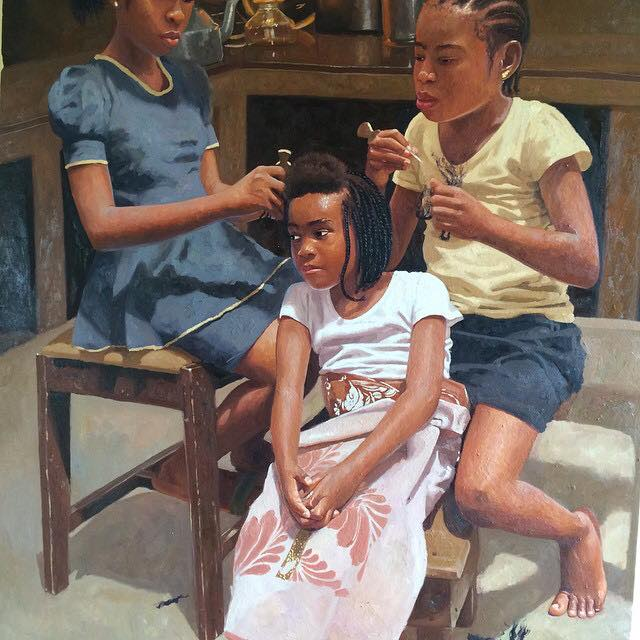 Oresegun Olumide  Nigerian artist